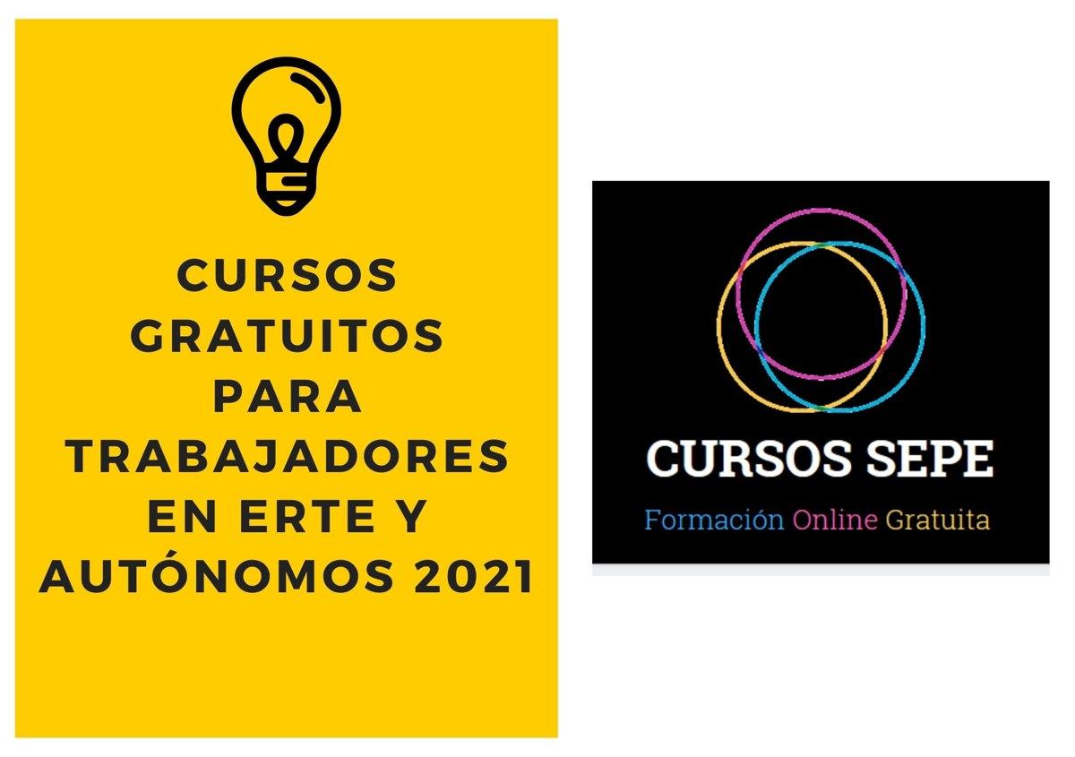 Cursos Gratuitos Para Trabajadores En Erte Y Autonomos 2021